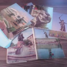 SET CARTI POSTALE 14 BUC.VOLGOGRAD[STALINGRAD] - Carte postala tematica, Necirculata, Printata