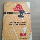 SISTEME DE CALCUL CU ACCES MULTIPLU - M. V. WILKES