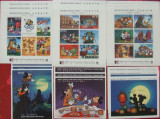 MALDIVES W. DISNEY - MICKEY VIZ. CHINA, 3 X (3 M/SH  + 3 S/S), NEO 1996 - WS 62A, Animatii