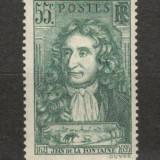 Franta.1938 Jean de la Fontaine-poet XF.76, Nestampilat