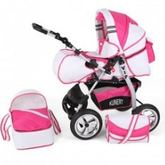 Carucior 2 In 1 Copii 0-36 Luni Kunert Vip Pink Barbie - Carucior copii 2 in 1 MyKids