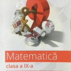 CLUBUL MATEMATICIENILOR - MATEMATICA CLASA A IX-A - Perianu, Dumitrel - Culegere Matematica