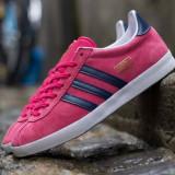 Adidasi Originali Adidas Gazelle OG, Autentici, Noi, Marime 38 2/3 - Adidasi dama, Culoare: Din imagine, Piele naturala