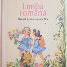 LIMBA ROMANA, MANUAL PENTRU CLASA A II A de ELENA CONSTANTINESCU...ELENA SACHELARIE, 1983 (REVIZUIT ) - Carte Sociologie