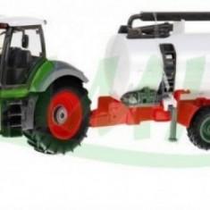 Tractor de ferma cu telecomanda si remorca 8301 Cisterna Ramiz