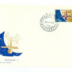 Romania - FDC Nr Lista 603 - Ranger 9 - 1965, Europa, Aviatie