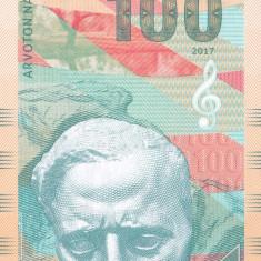 Bancnota Finlanda 100 Markkaa 2017 - SPECIMEN ( hartie cu filigran ) - bancnota europa