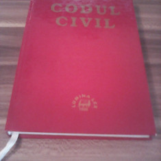 CODUL CIVIL LUMINA LEX 1998/302 PAGINI - Carte Drept civil
