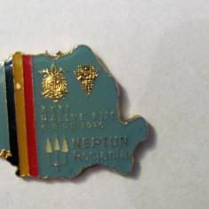 "PVM - Breloc ""Neptun Romania 1976 / Federatia Romana de Motociclism"""