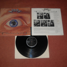 U.D.O. (ex Accept): Faceless World (1990)(vinil de heavy metal, cel mai bun UDO)