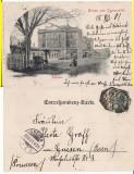 Cernauti ( Bucovina )- Gara -clasica, rara, Circulata, Printata
