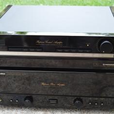 Amplificator Final M-73 si PreAmplificator Pioneer C-90 - Amplificator audio Pioneer, 121-160W