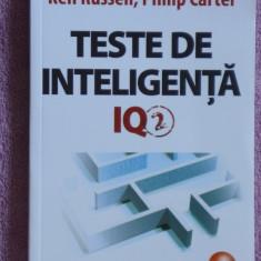 Teste de inteligență - Phillip Carter, Ken Russell