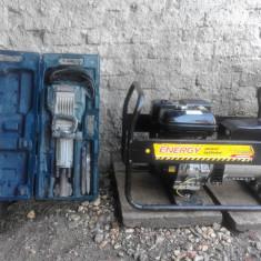 Generator 6, 5kw, demolator Bosch GSH16