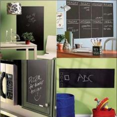 Tabla de scris - sticker/autocolanta perete 45/200 cm - Tabla pentru scoala