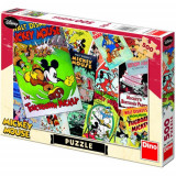 Puzzle Distractie cu Mickey Mouse 500 Piese