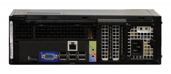 Calculator DELL Optiplex 390 Desktop SFF, Intel Core i3 2100 3.1 Ghz, 4 GB DDR3, 250 GB HDD SATA, DVD-ROM, Windows 7 Home Premium foto mare