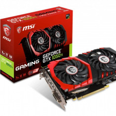 Placa video MSI NVIDIA, GeForce GTX 1050 Ti GAMING 4G, PCI Express x16 3.0, - Placa video PC