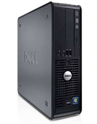 Calculator Dell Optiplex 580 Desktop SFF, AMD Athlon II X2 240 2.8 GHz, 2 GB DDR3, 160 GB HDD SATA, DVD-ROM, Windows 10 Pro foto