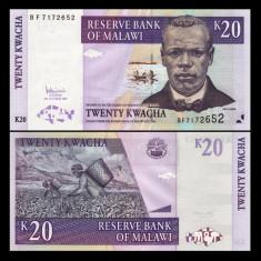 Malawi 2007 - 20 kwacha UNC