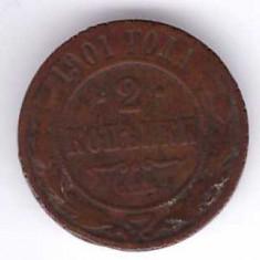 Rusia 1901 - 2 kopek
