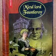 Frances H. Burnett – Micul lord Fauntleroy