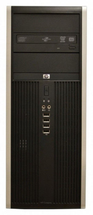 Calculator HP Elite 8100 Tower, Intel Core i7 860 2.8 GHz, 4 GB DDR3, 250 GB HDD SATA, DVD-ROM, Windows 10 Home foto mare