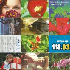 LOT 12 cartele telefonice Romania - Cartela telefonica romaneasca