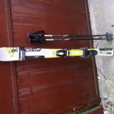 Skiuri  Fischer Pro RC4 Powercore  si bete de ski V3Tec Cross de  lungime 90cm