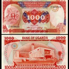 Uganda 1986 - 1000 shillings UNC