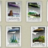 Ungaria 1981- Zeppelin, serie neuzata