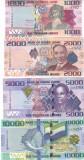 Bancnota Sierra Leone 1.000 - 10.000 Leones 2013 - P30-33 UNC ( set complet x4 )