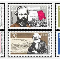 DDR 1983 - 100th Karl Marx, serie neuzata