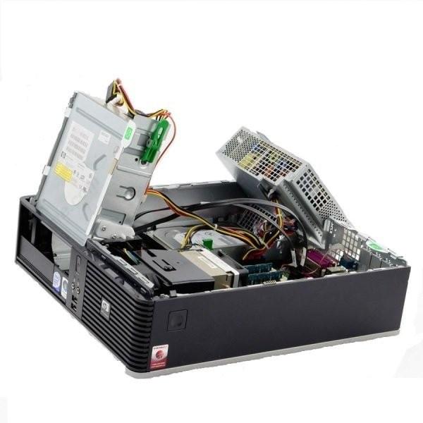 Calculator HP Compaq dc7800p Desktop, Intel Core 2 Duo E6550 2.33 GHz, 2 GB DDR2, 250 GB SATA, DVDRW, Windows 10 Pro foto mare