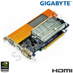 Placa video Gigabyte GeForce 8400GS 512MB (up 1GB) 64-Bit DVI VGA HDMI GARANTIE!
