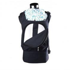 Marsupiu Bebe Si Copii Cangaroo Babypack 3 In 1 Albastru - Marsupiu bebelusi