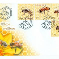 Romania - FDC Nr Lista 1854 - 2010 - Albine Melifere, Europa, Fauna