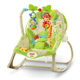 Balansoar bebe 2 in 1 Infant to Toddler Rainforest Friends Fisher Price