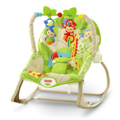 Balansoar bebe 2 in 1 Infant to Toddler Rainforest Friends Fisher Price - Balansoar interior