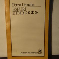 Petru Ursache-Eseuri etnologice