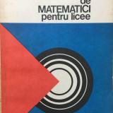 COMPLEMENTE DE MATEMATICI PENTRU LICEE - Ionescu - Carte Matematica