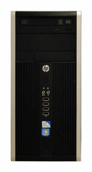 Calculator HP Compaq 6200 Tower, Intel Core i3 Gen 2 2100 3.1 GHz, 4 GB DDR3, 500 GB HDD SATA, DVDRW foto mare