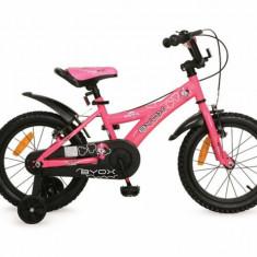 Bicicleta copii 16 inch Devil Roz Byox