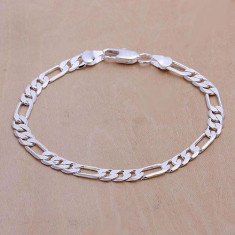 Bratara placata argint 925  poze reale