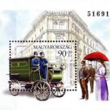 Ungaria 1997 - ziua marcii postale, colita neuzata