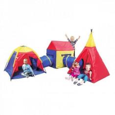 Ansamblu corturi de joaca Deluxe City Knorrtoys - Casuta copii