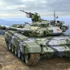 Russian Battle Tank T-90A - Automodelism