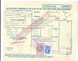 bnk fil Timbre fiscale - 1 leu + 2 lei fondul aviatiei pe factura 1934