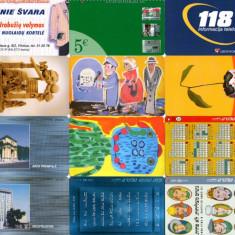 LOT 12 cartele telefonice diferite - Cartela telefonica romaneasca