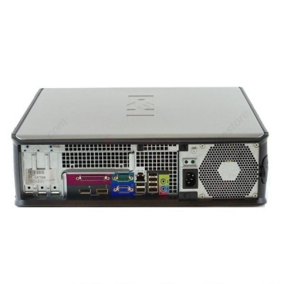 Calculator Dell Optiplex 780 Desktop, Intel Core 2 Duo E7500 2.93 GHz, 2 GB DDR3, 250 GB HDD SATA, DVD, Windows 10 Pro foto